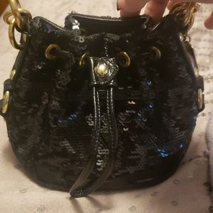Coach poppy mini purse